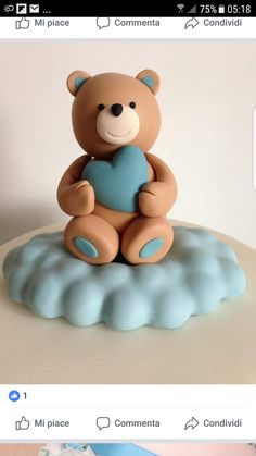 1 million+ Stunning Free Images to Use Anywhere Fondant Cookies, Fondant Cake Toppers, Fondant Baby, Fondant Icing, Teddy Bear Day, Teddy Bear Cakes, Fondant Cake Tutorial, Cake Topper Tutorial, Cake Decorating Techniques