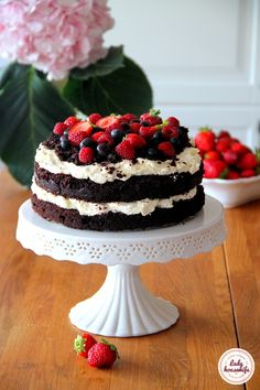 Desery Archives - Strona 5 z 8 - Lady housewife Food Inspiration, Chocolate Cake, Cake Recipes, Deserts, Food And Drink, Cooking Recipes, Sweets, Baking, Cakes