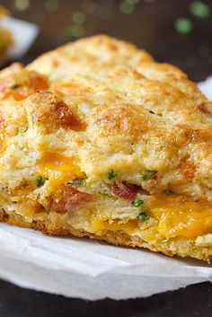 Bacon-Cheddar-Chive Scones Recipe