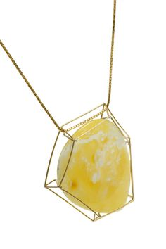 GEOAmber Collection Authentic Polish Amber. 14K Gold