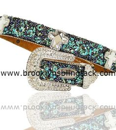 Bling Belts, Rhinestones, Cow, Turquoise, Accessories, Clothes, Fashion, Denim Boots, Outfits