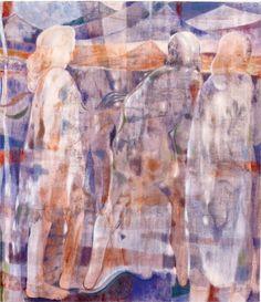 Matthew Bourbon on Maja Ruznic - Artforum International Female Painters, Mark Making, Oil On Canvas, How To Draw Hands, Exhibitions, Bourbon, Drawings, Globe, Painting