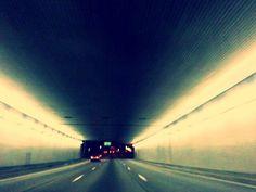 I71 North in Cincinnati, Ohio