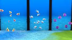 Deco fish for pools, aquariums etc.