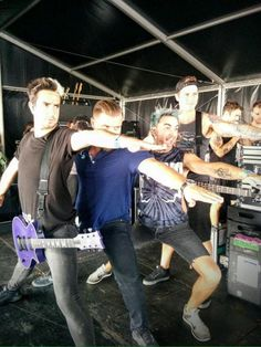 Whenever someone ask who/what All time low is... just show 'em this pic