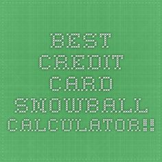 Download This Snowball Debt Calculator And Plan To Get Out Of Debt