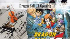 Partitura Dragon Ball GT Opening Duo piano y violín
