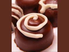 basic chocolate ganache recipe - so doing this with baileys for nanna!