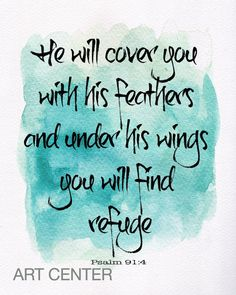 Diy he will cover you with his feathers wood sign kit free he will cover you with his feathers bible verse by artcenter1 solutioingenieria Image collections
