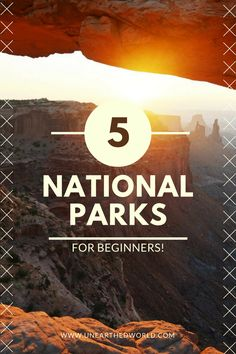 5 national parks to visit in the U.S., starting with Yosemite and Smokey Mountains