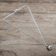 silver poppy necklace handmade designer made in the uk Handmade Necklaces, Poppy, Arrow Necklace, Seeds, Chain, Detail, Silver, How To Make, Beauty