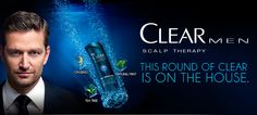 Free Sample of Clear Scalp Therapy Mens Shampoo  Conditioner