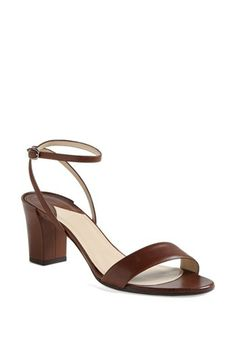Paul Andrew 'Zinnia' Leather Sandal available at #Nordstrom