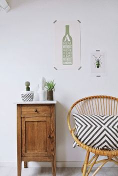 Sitting On Chair Illustration - Rattan Chair Corner - - Swing Chair Dimension Interior Styling, Interior Decorating, Interior Design, Sweet Home, Deco Ethnic Chic, Room Inspiration, Interior Inspiration, Round Chair, Living Spaces