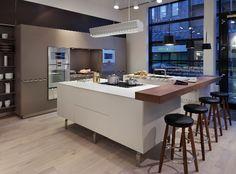 Kitchen architecture's bulthaup showroom in Cheshire #kitchens