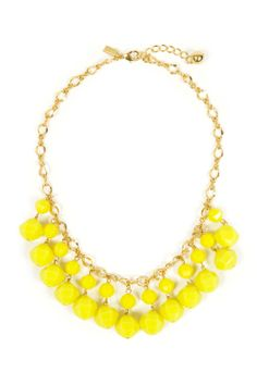 kate spade new york accessories Cut to the Chase Necklace