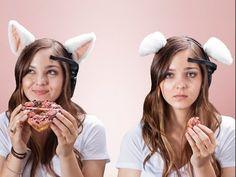 Кошачьи ушки Necomimi - реагирующие на ваше настроениеalliex.ru