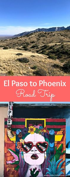 El Paso to Phoenix Road Trip! Travel from Texas to Arizona with lots of fun stops along the way, including White Sands National Monument and MLB spring training! Find out the best things to do in El Paso and Phoenix, from can't miss sights to delicious restaurants!   Hello Little Home