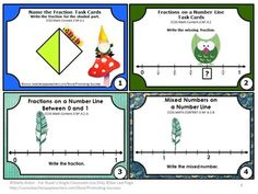 FREE Fractions: 3rd Grade Mega Bundle Task Cards Sampler - In this resource, you will find eight task cards for Grade 3 Common Core fractions. This is a sampler set from my Grade 3 Fractions Mega Bundle. A student response form and answer key are also provided.