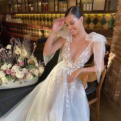 Love the way you smile #Berta #vakkowedding #bridal Berta Wedding Gowns, Berta Bridal, Wedding Dresses, Wedding Bells, Wedding Bride, Dream Wedding, Dream Dress, Bridal Style, Wedding Inspiration