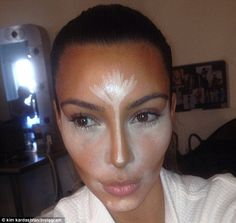 Kim Kardashian's wedding makeup artist reveals how to get her look #dailymail