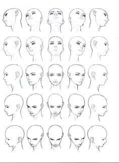 3dmaker :: 남녀얼굴 그리기, 인체그리기(drawing face, body) #DrawingFaces