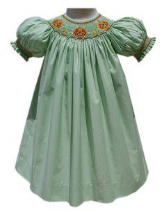 Jack-O-Lantern Bishop Halloween Girls Dress – Carousel Wear