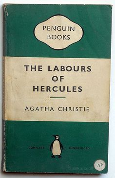 The Labours of Hercules by Agatha Christie - 18th June 2013