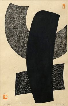 Haku Maki, Japanese 1924-2000- ''Ox'', ed. of 510, 43x28cm
