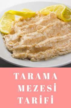 Tarama MEZESİ Tarifi Hummus, Appetizers, Ethnic Recipes, Food, Appetizer, Antipasto, Hoods, Meals, Entrees
