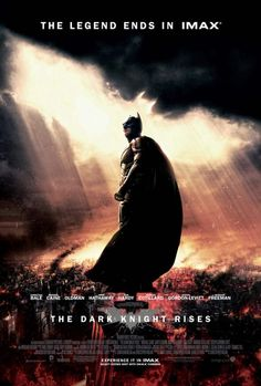 New THE DARK KNIGHT RISES IMAX Poster #Batman #TDKR