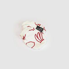 Luvinhas em Algodão Orgânico da Matiz / Organic cotton mittens by Matiz.