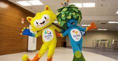 Os mascotes dos Jogos do Rio-2016 homenageiam os astros da Bossa Nova: Vinícius e Tom