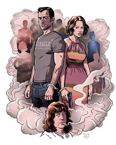 "679 curtidas, 15 comentários - David M. Buisán Illustration (@davidmbuisan) no Instagram: ""THE LEFTOVERS Final Season is here!! #theleftovers #carriecoon #hbo #justintheroux"""