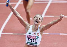 Justyna Święty - brązowy medal w biegu na 400 m