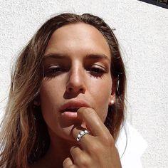 Insta babe @olivecooke wearing @indieandharper Navajo Opal Ring ♥️ www.indieandharper.com