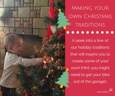 Making Your Own Christmas Traditions - Some Christmas traditions have been passed down for generations. It's time to make a few of your own! Christmas Eve Traditions, Christmas Tree, Christmas Ornaments, Make Your Own, Traditional, Holiday Decor, Create, Teal Christmas Tree, Christmas Jewelry