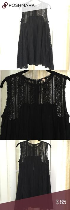 "Free People | Lace dress Beautiful dress in great condition! Worn once. Only selling because it's a little too short on me (I'm 5' 11""). Length is about 32"". Free People Dresses"