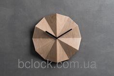 Производим оригинальные настенные часы из дерева. Компания B'Clock :) Bclock.com.ua
