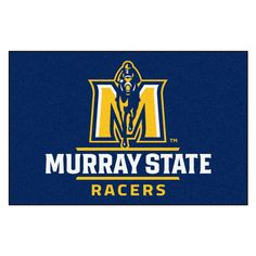 Ncaa Murray State University Blue 1 ft. 7 in. x 2 ft. 6 in. Accent Rug