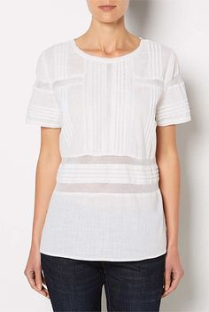 Witchery Lace Insert Tee
