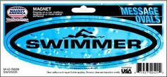 Get this magnet for the swimmer on your list!