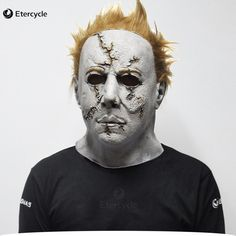 [Visit to Buy] Scary MichaelMyers Mask Horror Movie Halloween Cosplay Adult Latex Party Mask #Advertisement