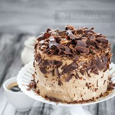 Porady i sprawdzone przepisy kulinarne Oli :) - Torte Chocolate Desserts, Tiramisu, Tea Party, Cake Recipes, Nutella, Oreo, Birthday Cake, Cooking Recipes, Baking