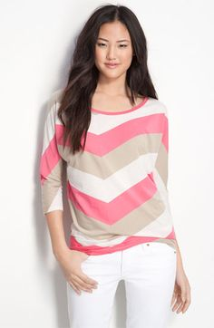 Chevron Stripe Tee