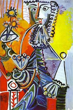 Pablo Picasso - Cavalier with Pipe