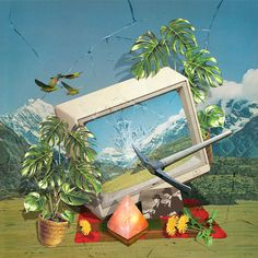 Kerry Ann Lee Fruits in the Backwater - Pataka Photo Montage, Creative Background, Multiple Exposure, Magic Mirror, Still Life, Tourism, Ann, Collage, Culture
