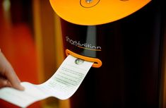 Need to kill a few minutes while waiting for a bus or train? Instead of mindlessly staring at your phone or twiddling your thumbs, why not print out a quick short story. A small start-up in Grenoble, France aims to do just that with the Short Edition vending machine.  Via Colossal.