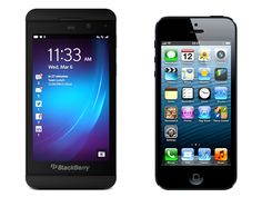 HOT Fruit Fight – Apple's IPhone 5 Vs. Blackberry's Z10
