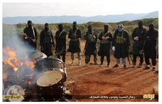 'Unislamic': The group claims it burned the drums because it believes music is against their religion